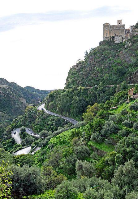 Windy road to Savoca, Sicily | Dennis Jarvis via Flickr