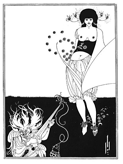 Aubrey Beardsley, The Stomach Dance (1893)