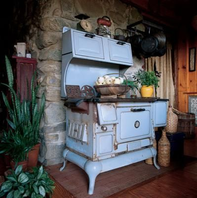 Antique Grand Perfection Kitchen Wood Stove