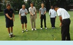 Great opportunities to learn golf and Club Med