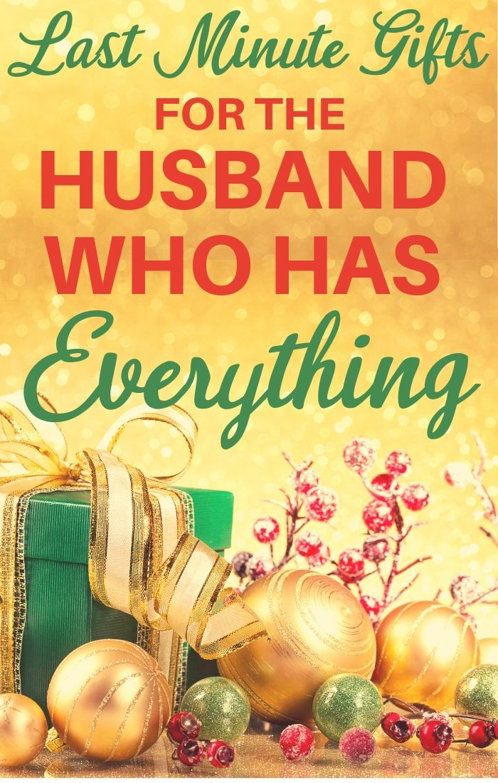 Christmas Gift Ideas For Husband Who Has Everything 2019 Last