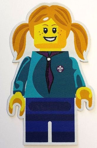 UK LEGO BEAVER SCOUT FUN BADGE | eBay They need to make a GSUSA one so I can get this!