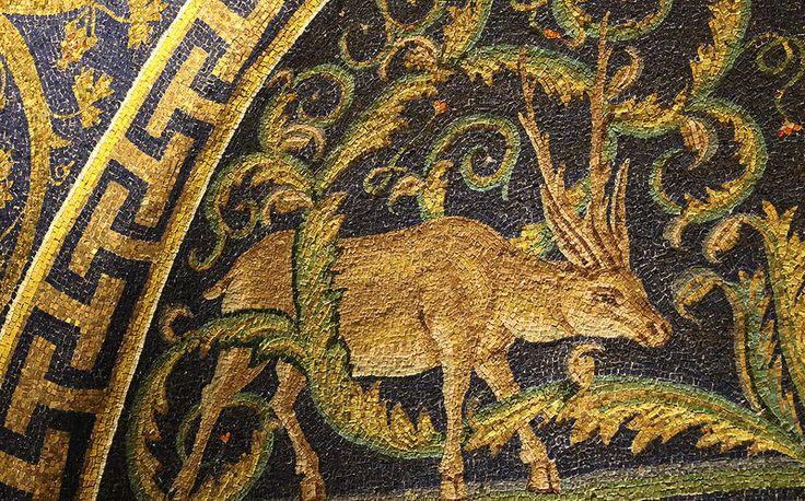 Lunetta dei cervi alla fonte (dettaglio) | by raffaele pagani