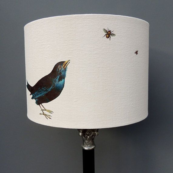 These Beautiful Kettle Of Fish Drum Lampshades Are A