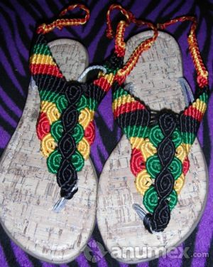 17 Best Images About Huaraches Tejidos On Pinterest