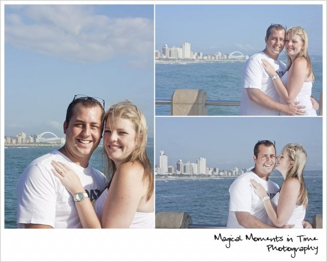 Durban Engagement Session | Magical Moments in Time Photography {couple on pier}