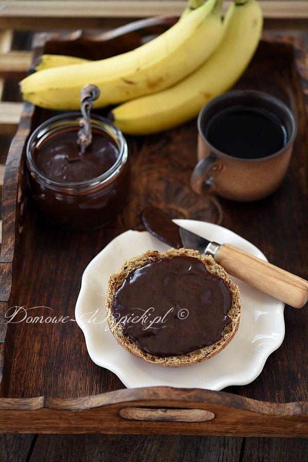 Krem czekoladowo- bananowy