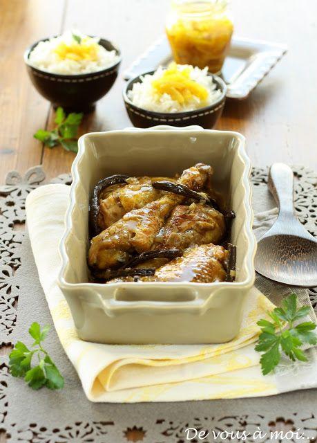 Poulet à la Vanille (cuisine mauricienne)