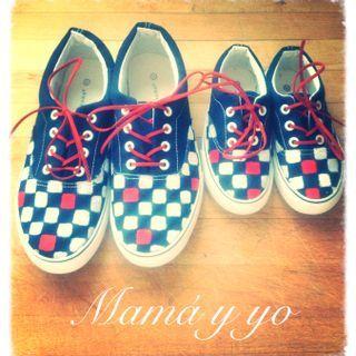 Zapatillas para mamá y para mí