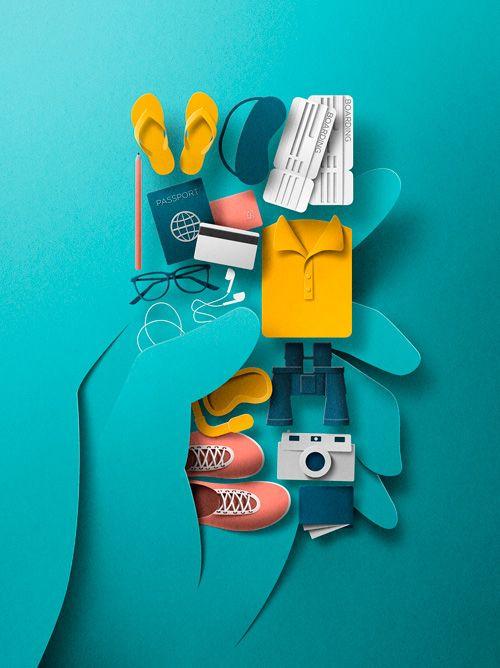 Collages 3D de Eiko Ojala 8