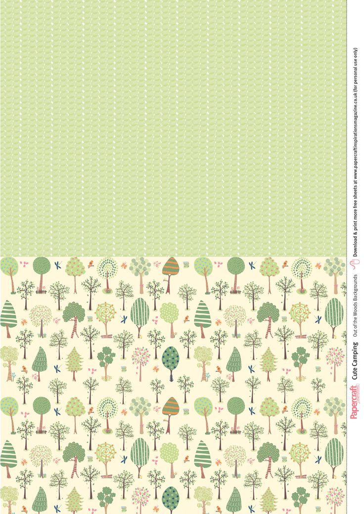 Free cute camping patterned papers Digital paper free