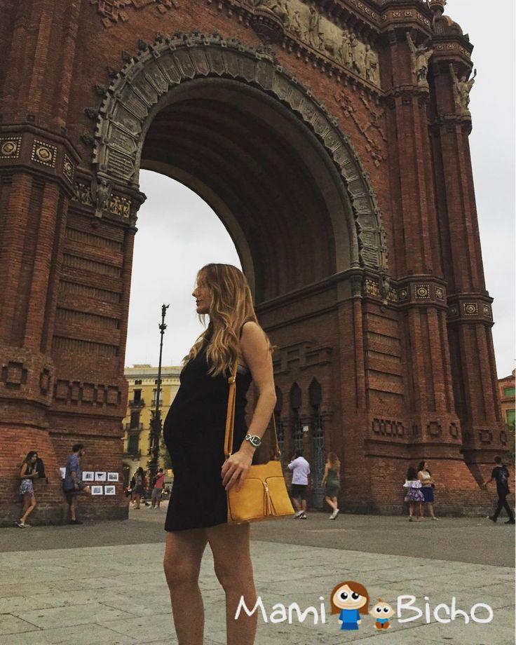 De paseo por Barcelona  #barcelona #arcodeltriunfo  #premama #embarazo #embarazada #mamibicho #madreprimeriza #embarazofeliz  #embarazosaludable #mamibicho #futuramama #embarazosano #futurobebe #pregnant #maternity #newborn #baby2017 #primeriza #baby #mamamolona #31semanas