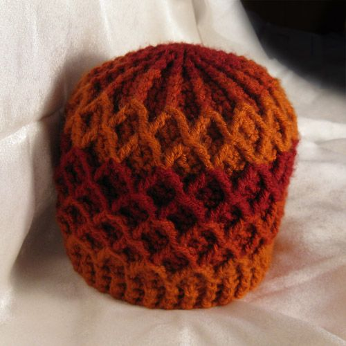 this pattern uses front post crochet fpdc as well