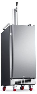 Some cool new 15-Inch Build-In Kegerators. Available in Stainless & Black Stainless. There's an outdoor model too.