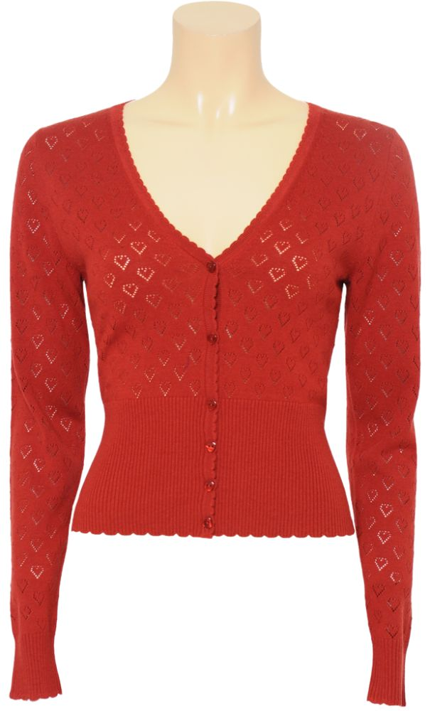 Cardigan to wear with party polka dress