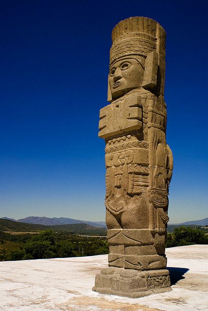 The archaeological site of Tula, Hildalgo, Mexico