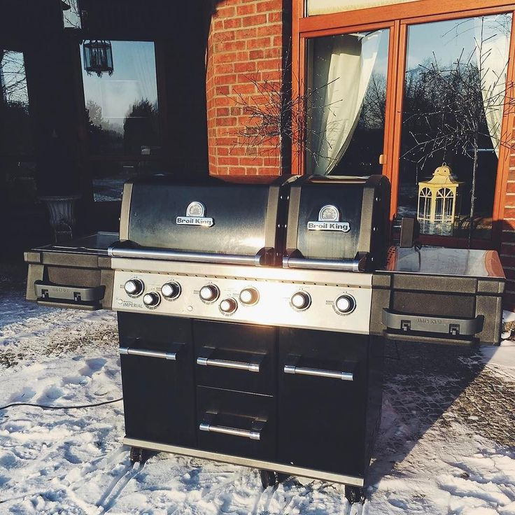 Zimowe grillowanie #broilkingPL #broilkingPolska #broilking #broilkingbbq #grillgazowy #grill #grillowanie #grillować