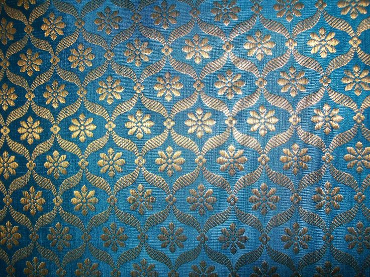 Indian Silk Brocade India Indian Fabric Fabric