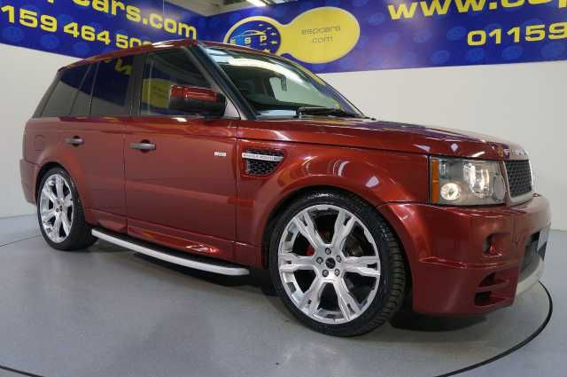 2008 Range Rover Sport 2.7 TDV6 S 5-door auto estate. Full Fantom upgrade. Red. Main dealer service history. Click on pic shown for loads more.