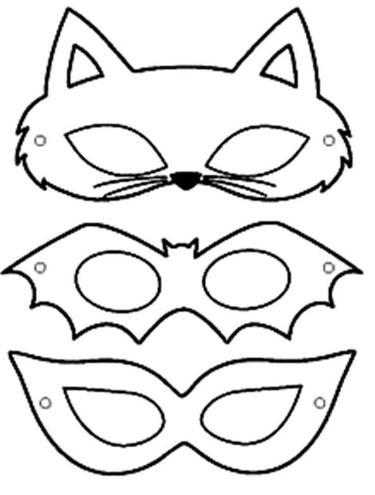 Karnevalsmasken Leicht herzustellen: 20 Modelle – kids crafts crafts for kids etc