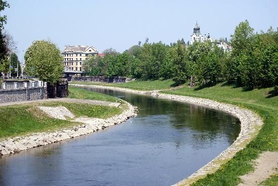 Ostravice River - Ostrava, Czech Republic