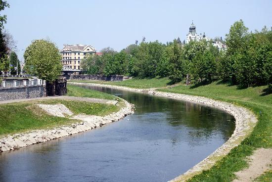 Ostravice River - Ostrava, Czech Republic