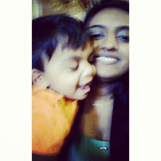 When he's too attached to u. Twin 1: Ashwin. #twins #babysitting #downtown #toronto #photography #blurry #cutenessoverload #cutie #baby