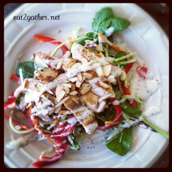 Thai Chicken Salad by eat2gather #Salad #Chicken #Healthy