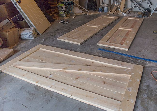 DIY Barn Door Plans Tutorial