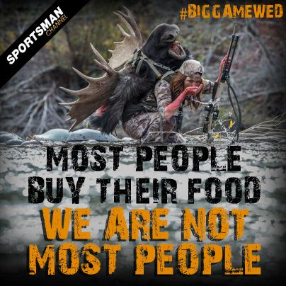 #Hunting #BigGameWed #WildGame