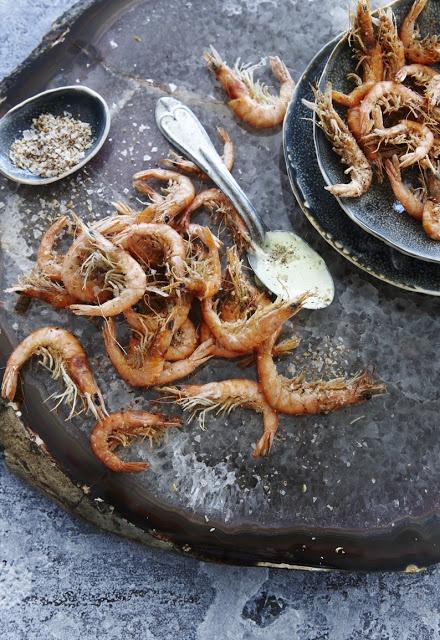 Sichuan school prawns