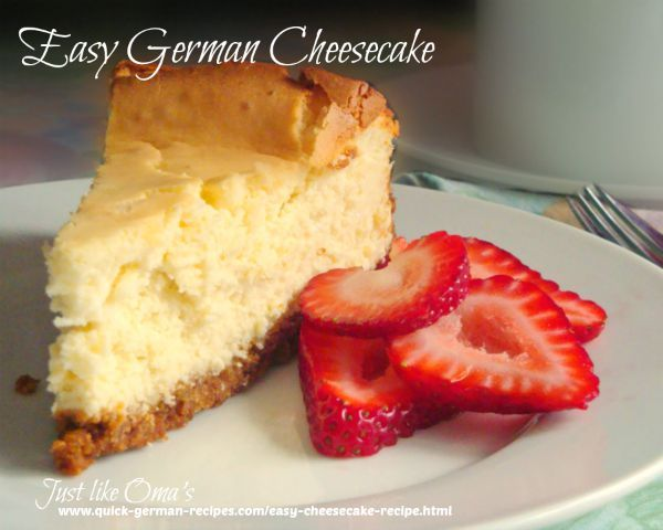 Here's an easy German cheesecake http://www.quick-german-recipes.com/easy-cheesecake-recipe.html that uses your mixer and blender…