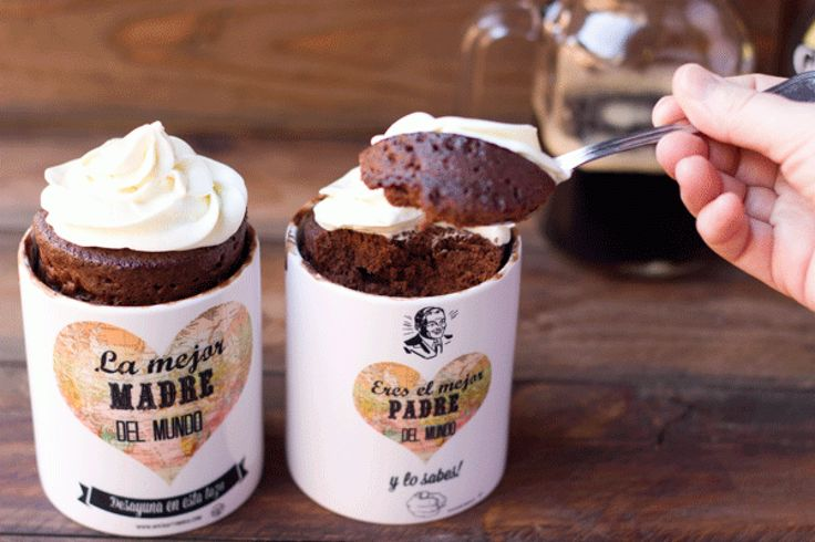 Receta definitiva de Mug cake de Guinness. Solo 3 minutos en el microondas.