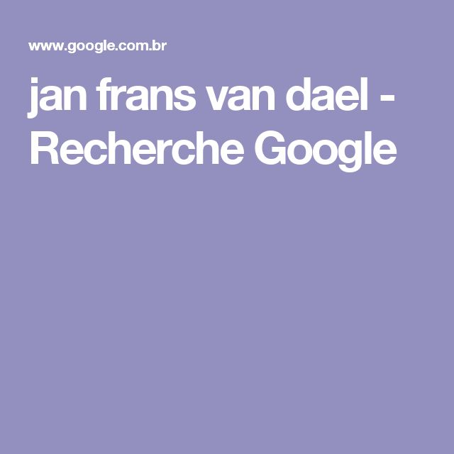 jan frans van dael - Recherche Google