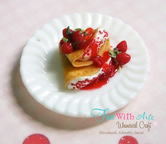 ... Crepes - Strawberry and Mascarpone Crepes with Strawberry Syrup