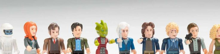 Selection of Dr Who figurines