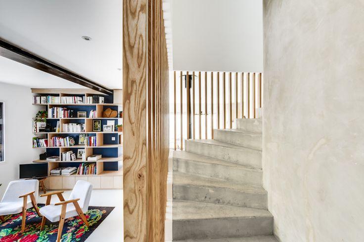 100 best escaliers d\u0027 interieur images on Pinterest Stairway - escalier interieur de villa