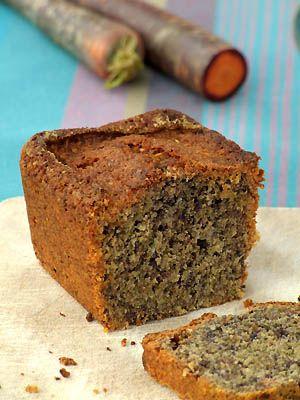 Cake à la carotte violette et à la noix de coco - Cuisine Campagne
