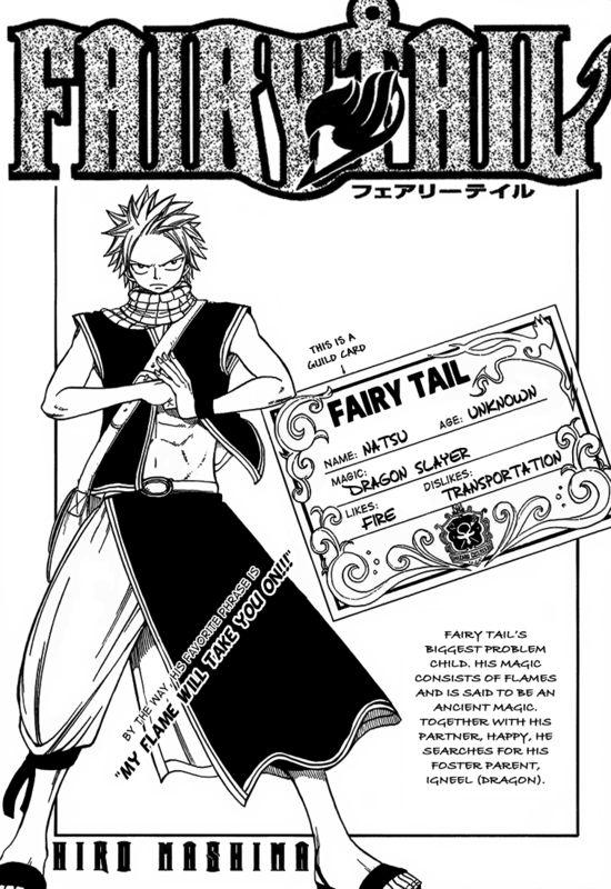 fairy tail guild stats natsu