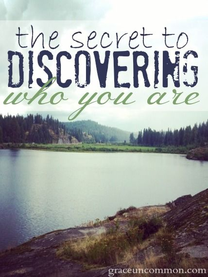 Do you ever feel like you wonder who you really are? Do you wonder what YOU think when all the other voices fade and you're left only with you? Discover the secret to finding who you really are. It's simple, and it might surprise you.