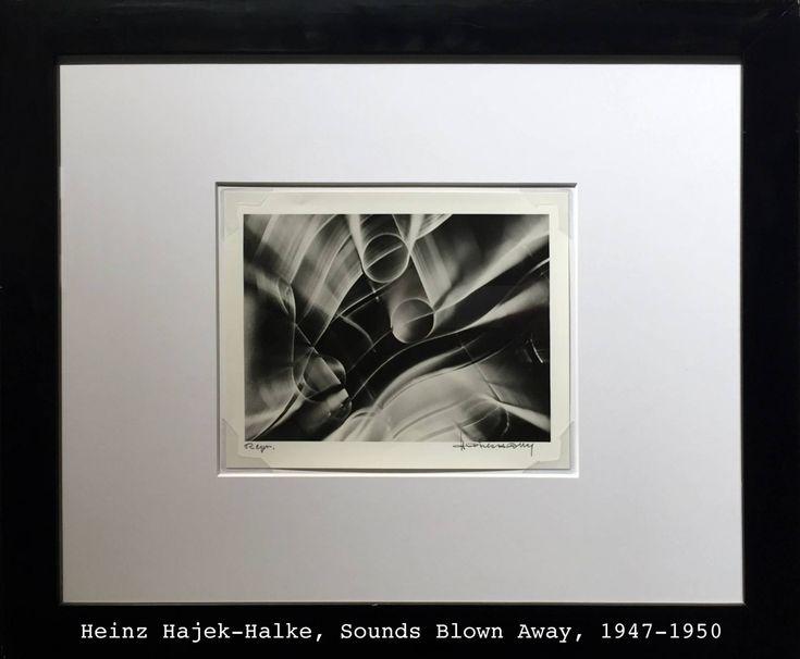 Heinz Hajek-Halke, Sounds Blown Away, exhibition in Galleria Carla Sozzani Milano