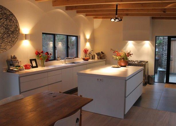 b1 keuken in een prachtige sfeervolle ruimte