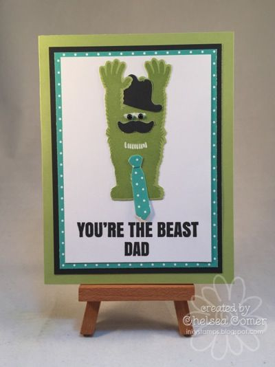Chelsea's Creative Corner: You're the Beast ... Dad