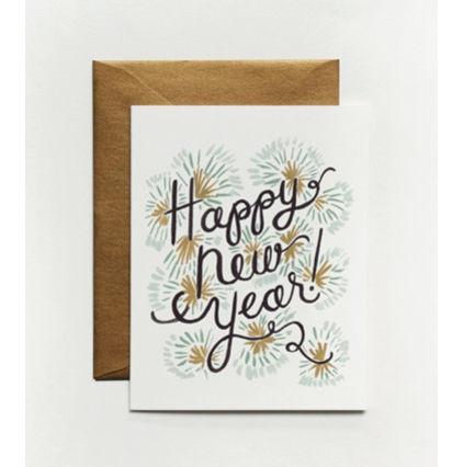 happy new year card design