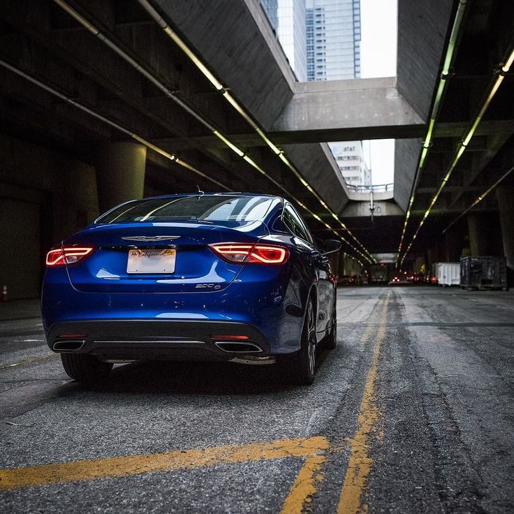 #car #cars #drive #ride #Chrysler200 #200 #auto #instaauto #cargram #chrysler #bluecar #blue #citydriving