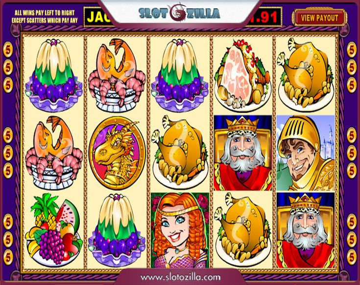 Go back to the age of courageous medieval knights! Play King Cashalot free slot powered by @microgaming at slotozilla.com
