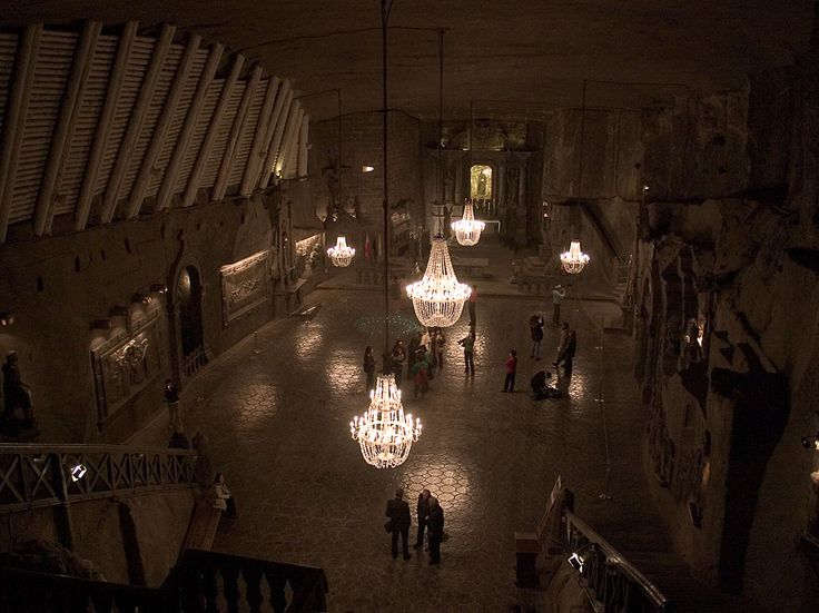ヴィエリチカ岩塩坑内の礼拝堂 Kopalnia soli Wieliczka