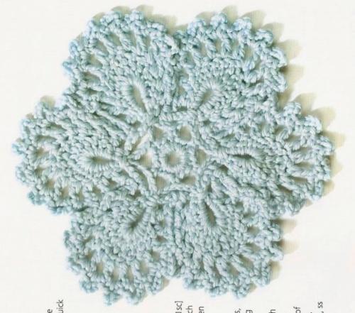 Crochet Flower Doily Pattern : 719 best Free Crochet Flower Patterns images on Pinterest