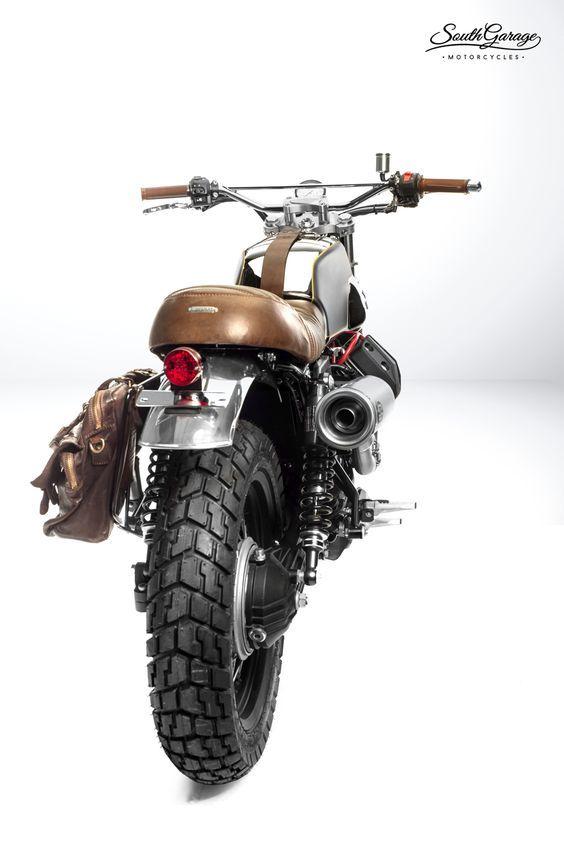 "Moto Guzzi V7 ""Ibis"" by South Garage Motorcycles"