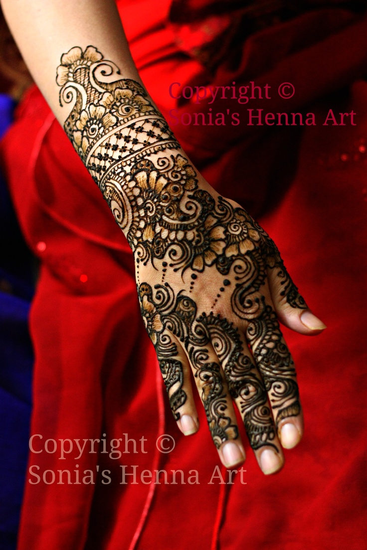 Henna Tattoo Toronto : Best bridal mehndi in the world images on